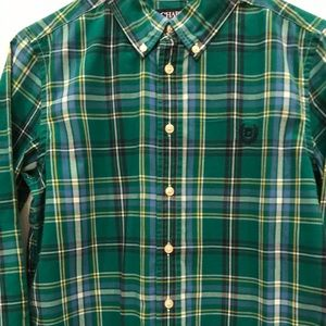 Chaps green size large 14/16 boys